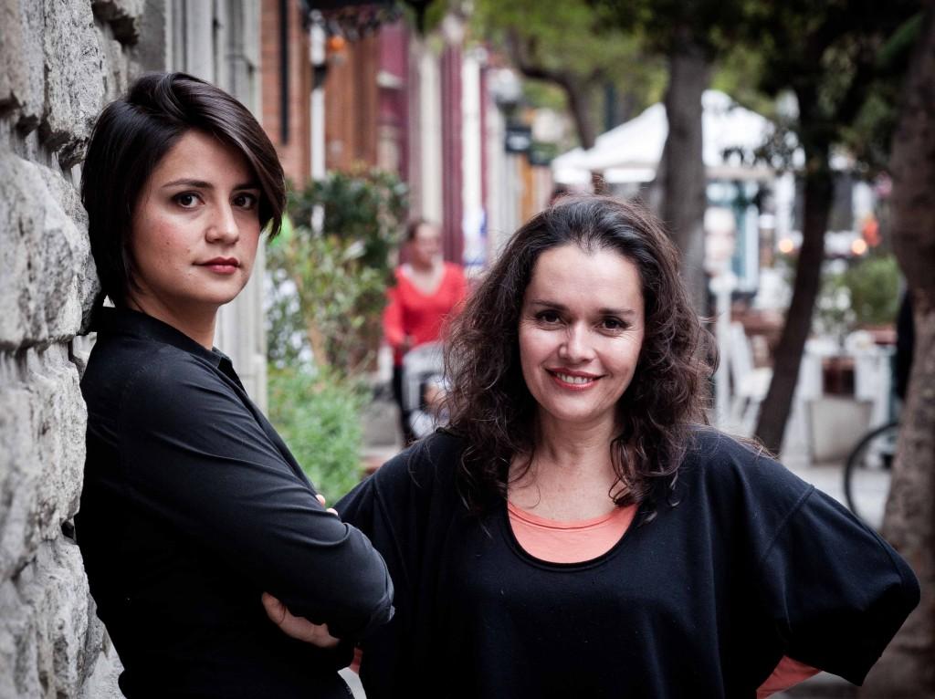 Rocío Montes y Nancy Castillo - Foto: Pablo Sanhueza